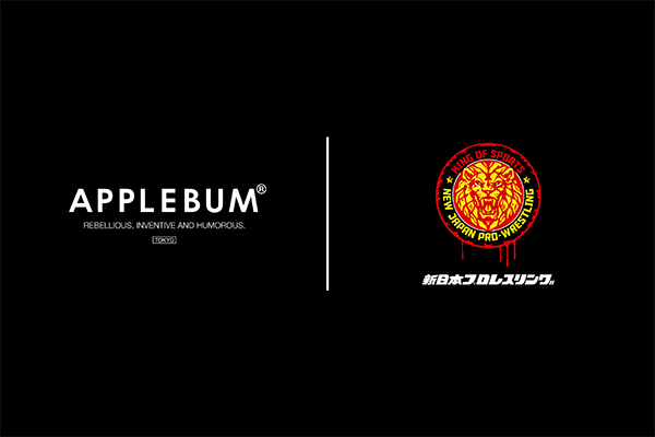 NJPW teams up with APPLEBUM & Isetan in new collaboration!