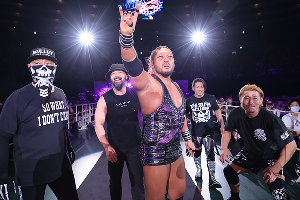 Bullet Club ganha novo membro
