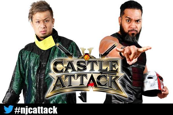 Five singles matches on Castle Attack night one card; preview   NEW JAPAN  PRO-WRESTLING