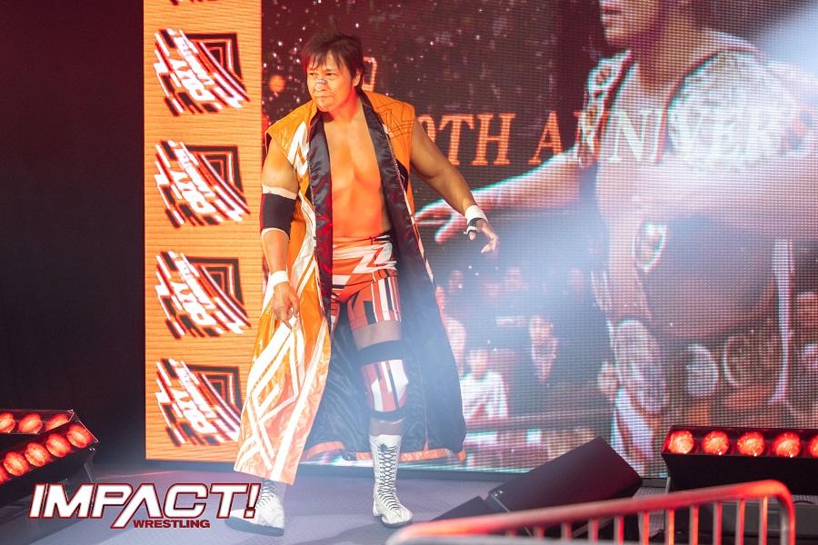 NJPW star, Kojima