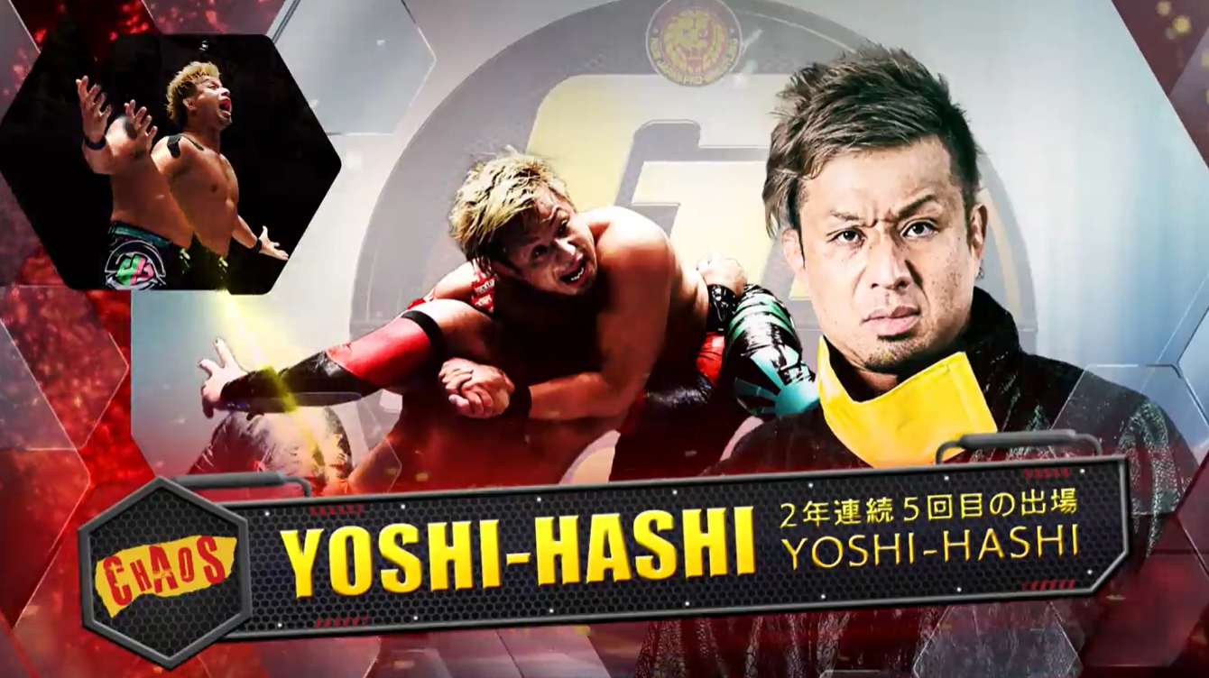 g1 climax 31 YOSHI-HASHI