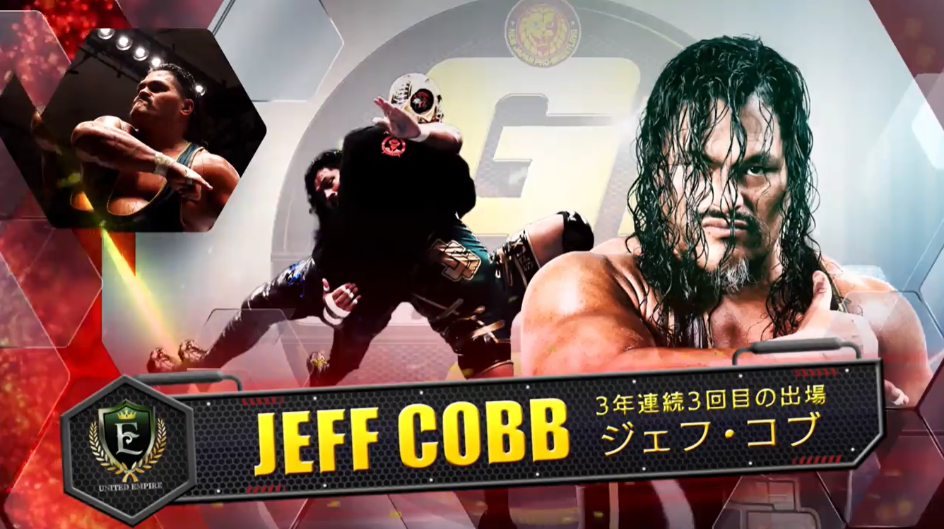 g1 climax 31 Jeff Cobb